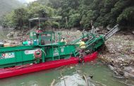 Continúa la limpieza del Cañon del Sumidero tras las lluvias del pasado viernes