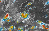 Para Michoacán, Morelos, Puebla, Chiapas, Veracruz y Tabasco, se pronostican tormentas muy fuertes