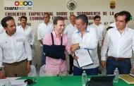 Suman esfuerzos para consolidar la ZEE y el Parque Agroindustrial en Puerto Chiapas