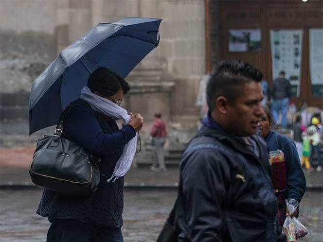 Frente frío número 9favorecerápotencial de tormentas
