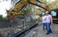 Brazo Sur beneficiará a más de 162 mil habitantes de la capital chiapaneca