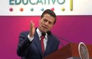 Peña Nieto llama a mexicanos a impulsar la 'revolución educativa'