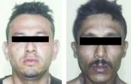 Asegura grupo interinstitucional a dos sujetos por robo con violencia en Pijijiapan