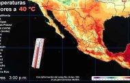 Protección Civil pide extremar precauciones ante el pronóstico de temperaturas superiores a los 40 grados