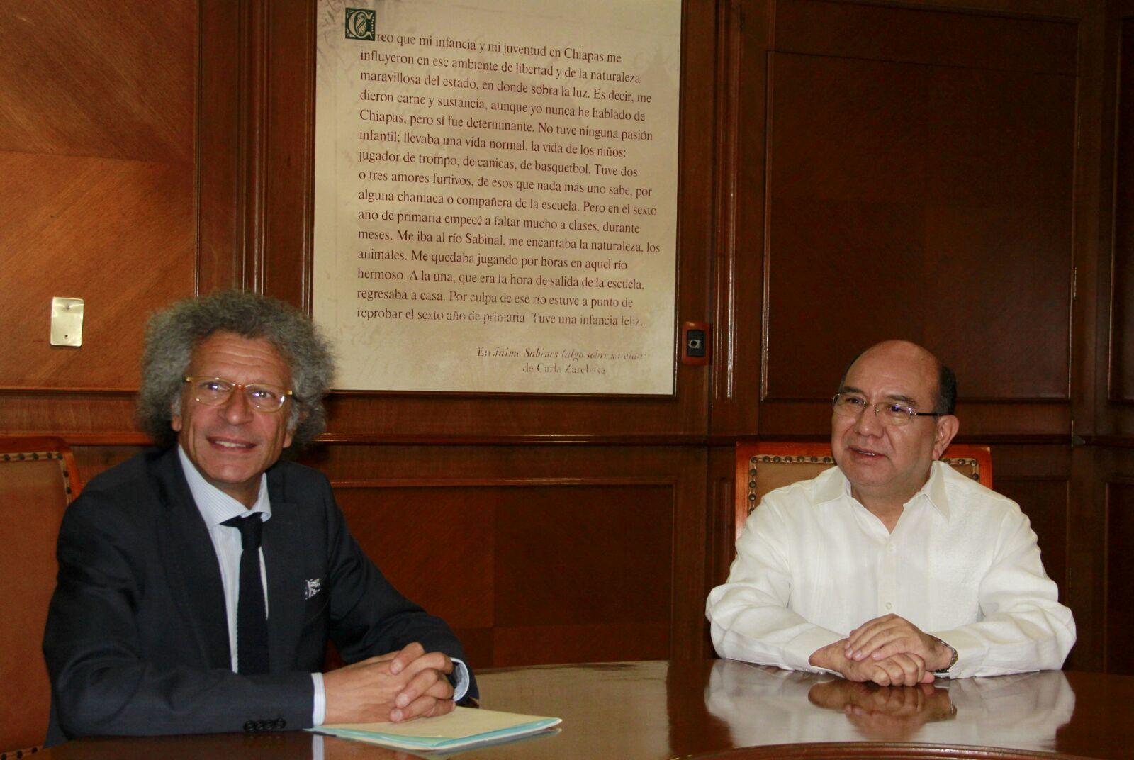 Italia y Chiapas por el impulso al turismo, economía y cultura