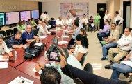 Gobierno de Chiapas y SEGOB instalan comité de evaluación de daños por sismo
