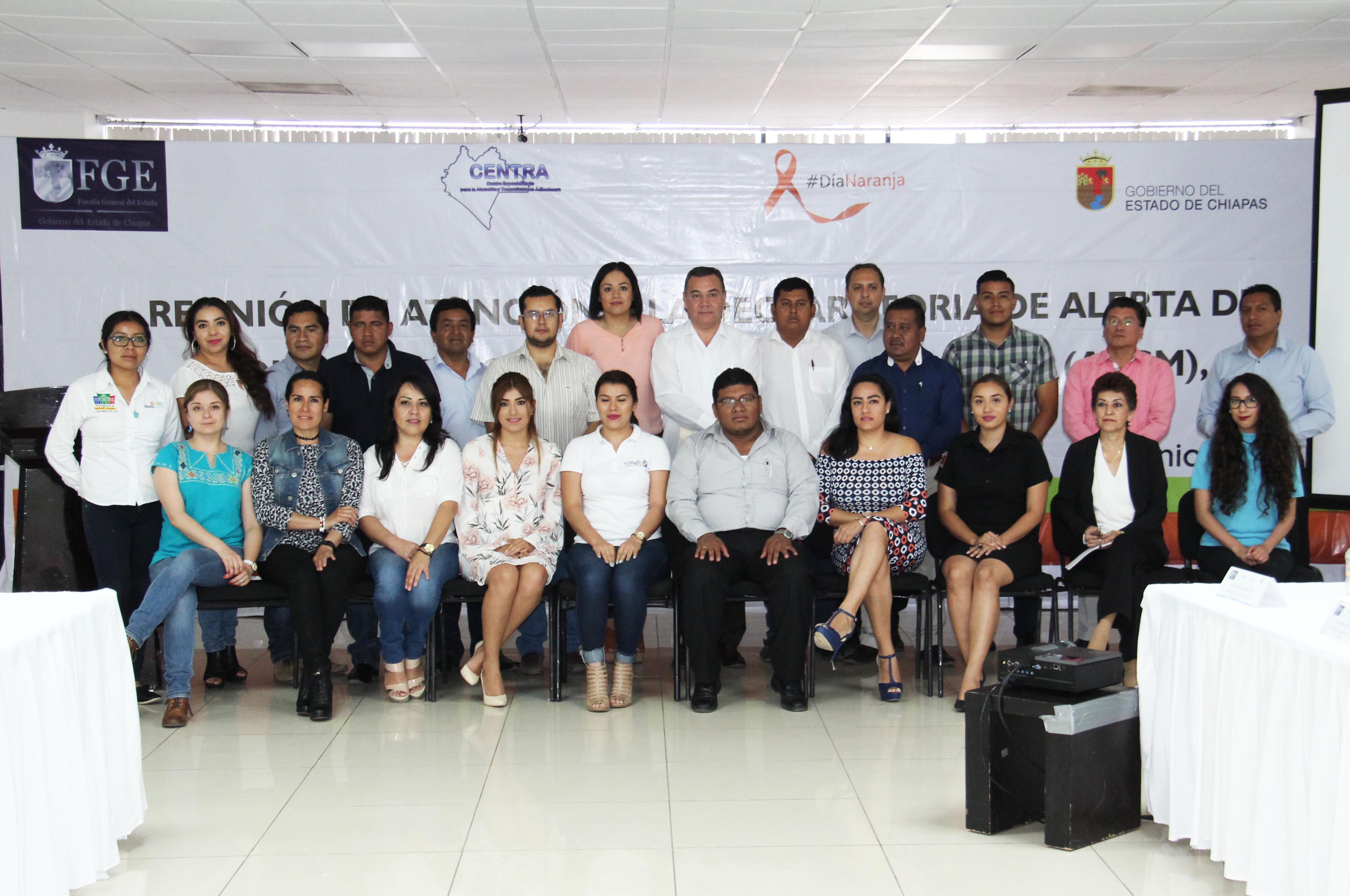 En atención a la Alerta de Género, fortalece FGE coordinación con áreas de prevención de Ayuntamientos en Chiapas