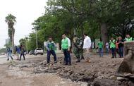 Oportuna respuesta del gobierno de Fernando Castellanos ante afectaciones por lluvias en Tuxtla