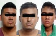 Asegura FGE a tres sujetos en posesión de mariguana en Suchiate