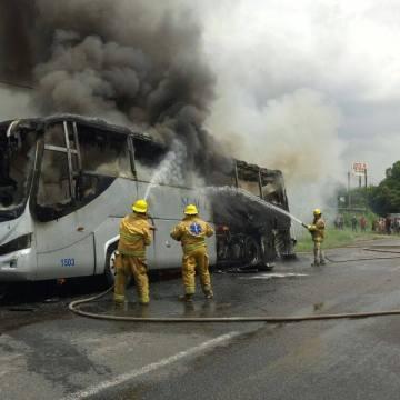 Investiga Instituto Nacional de Migración siniestro de autobús donde trasladaban a migrantes