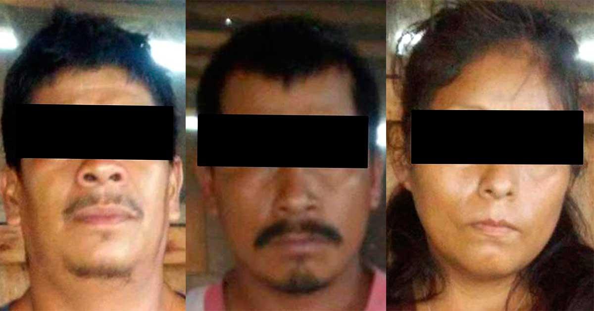 Detiene FGE a tres sujetos y rescata a migrantes en Ocosingo