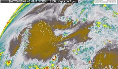 Para las próximas horas se pronostican tormentas muy fuertes en Chiapas, Campeche y Yucatán