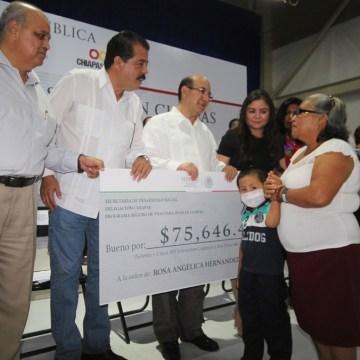 Con más beneficios y apoyos, EPN y MVC fortalecen desarrollo social en Chiapas