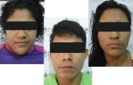 """Detiene FGE a tres integrantes de la pandilla """"Barrio 18"""" en Tapachula"""