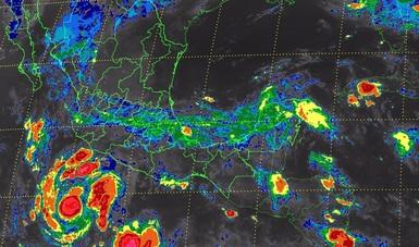Hoy se prevén tormentas intensas en Michoacán, Oaxaca y Chiapas