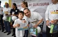 Secretario de Salud clausura Curso de Verano para hijos de trabajadores