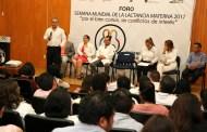 Secretario de Salud clausura actividades alusivas al fomento de la lactancia materna