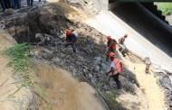 Supervisa Fernando Castellanos trabajos preventivos en el río Sabinal