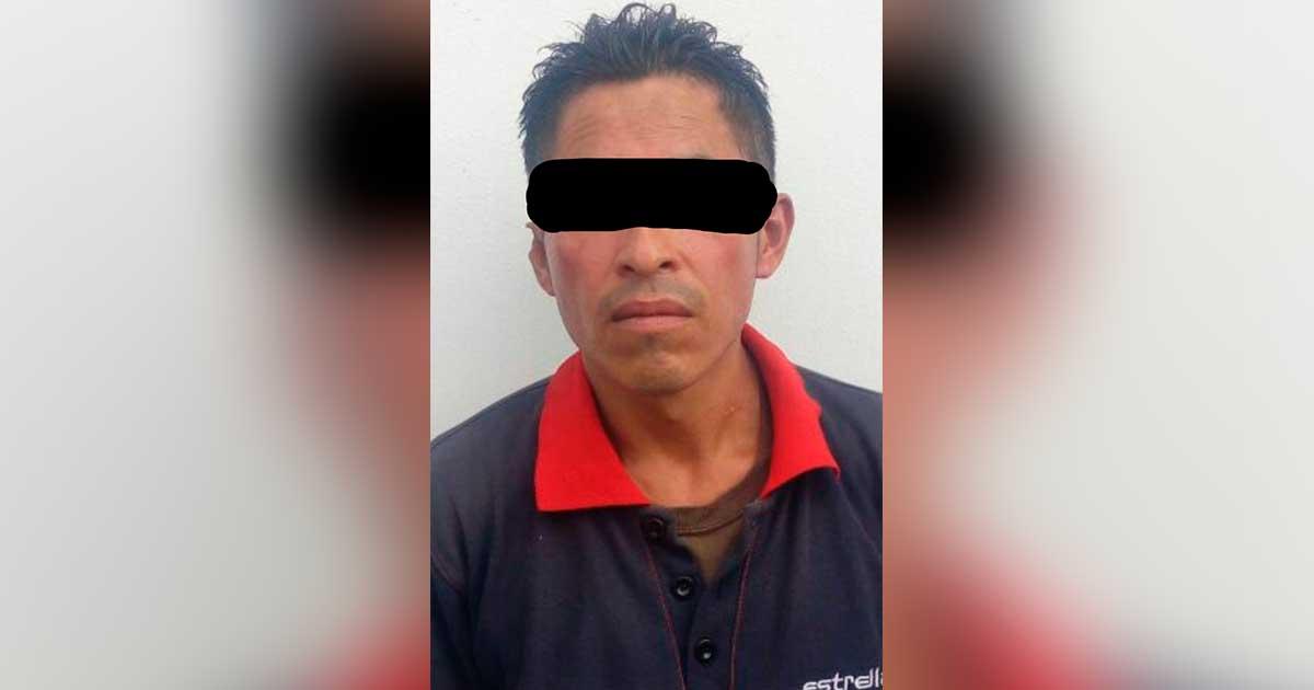 Policía Municipal asegura a sujeto por robo a transeúnte