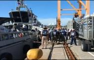 Marina entrega 135 toneladas de ayuda a Oaxaca y Chiapas