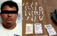 Detienen a sujeto con varias dosis de estupefacientes en el municipio de la Concordia
