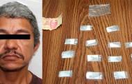 Detiene FGE a sujeto por delito de narcomenudeo en Tonalá
