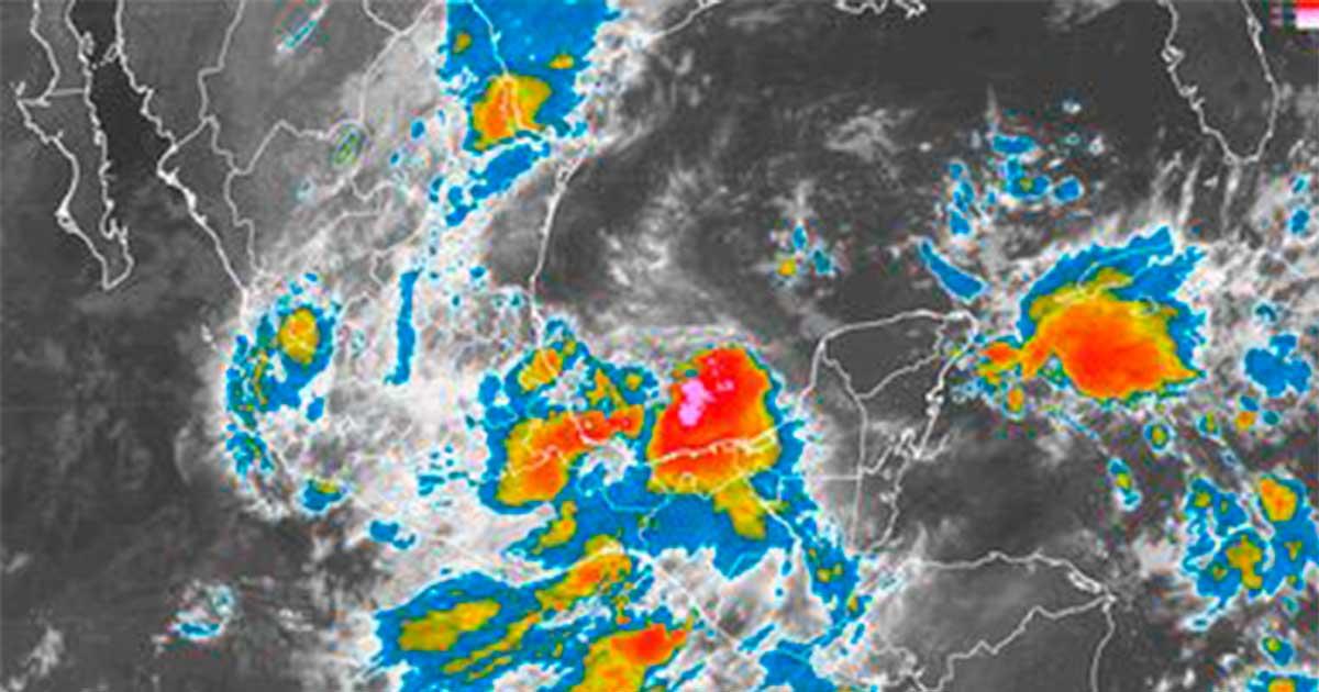 Tormentas torrenciales se prevén hoy en Coahuila, Hidalgo, Puebla, Oaxaca y Veracruz