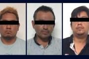 Detienen a tres presuntos integrantes de banda de asaltantes en Tuxtla