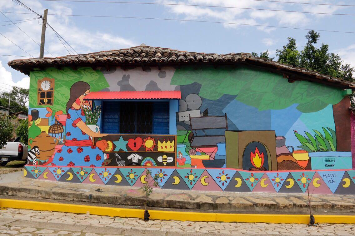 """Inaugura Fernando Castellanos el proyecto """"Ciudad Mural"""""""