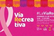 Habrá talleres de autoexploración para prevenir el cáncer de mama y unidad de Papanicolaou en la Vía Recreativa