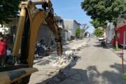 Realiza SMAPA trabajos de rehabilitación de la red sanitaria en Terán y Albania