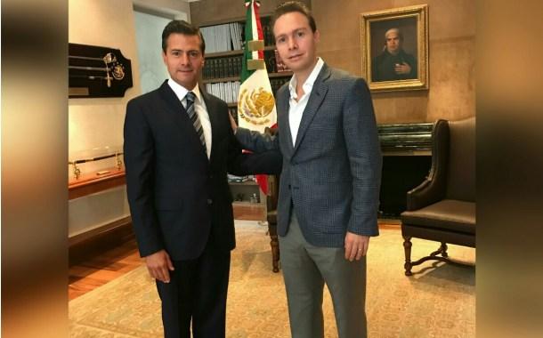 Peña y Velasco revisan avance de reconstrucción