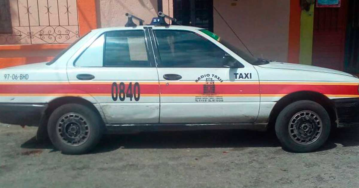 A minutos de la denuncia, SSyPC recupera taxi robado