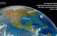 Se prevé tiempo estable en la mayor parte de México con probabilidad de tormentas muy fuertes en Chiapas