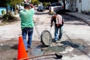 Residuos sólidos y grasas, los principales causantes de taponamiento en drenajes de Tuxtla