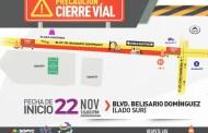 Anuncian la última etapa de rehabilitación del bulevar Belisario Domínguez