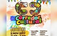 Invitan a familias tuxtlecas al Corredor Cultural en la Calzada de Los Hombres Ilustres