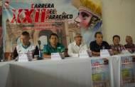 Carrera del Parachico va por su edición XXII