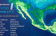 El Frente Frío No. 9 provocará descenso de temperatura y vientos fuertes en el norte y el noreste de México