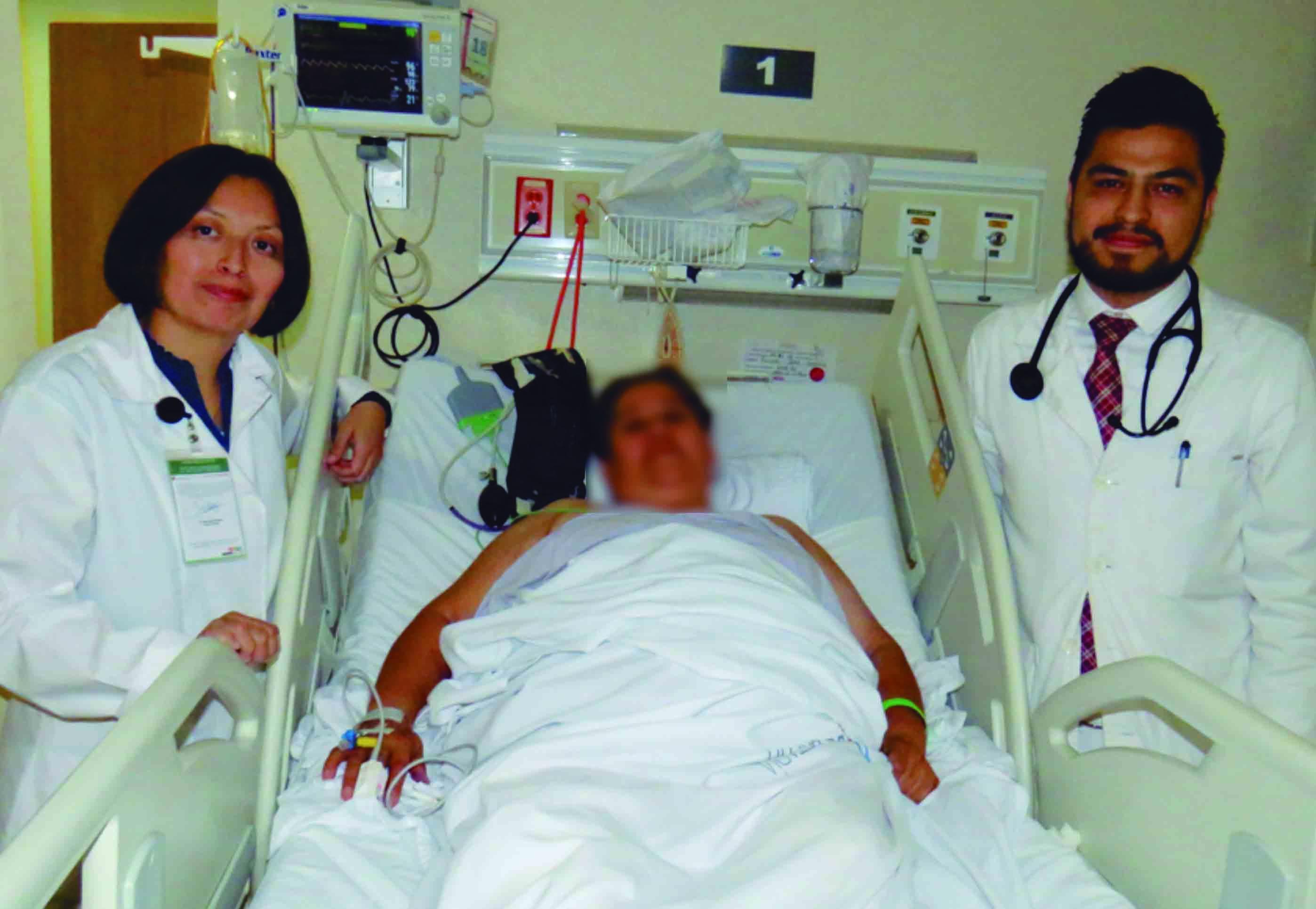 """Médicos del Hospital """"Gómez Maza"""" salvan vida a paciente con evento vascular cerebral"""