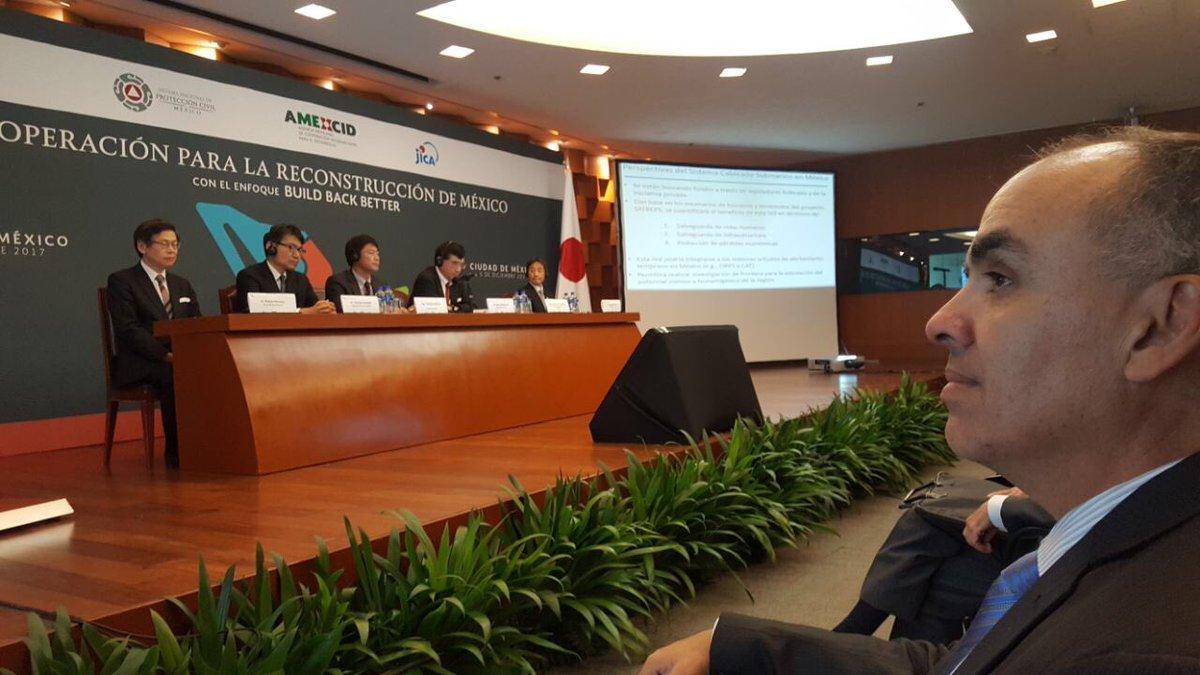 Chiapas participa en el Seminario para la Reconstrucción en México con el enfoque Build Back Better