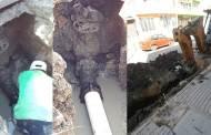 Reinicia SMAPA trabajos de rehabilitación de red hidráulica en Barrio Hidalgo
