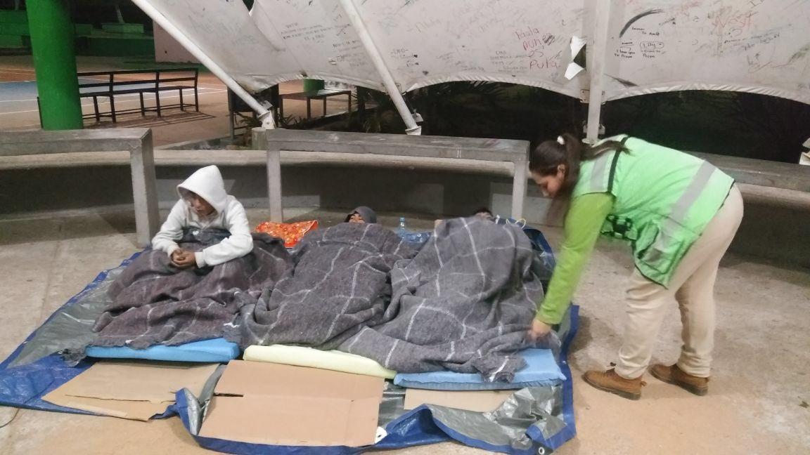 Ante bajas temperaturas Protección Civil implementa acciones de prevención