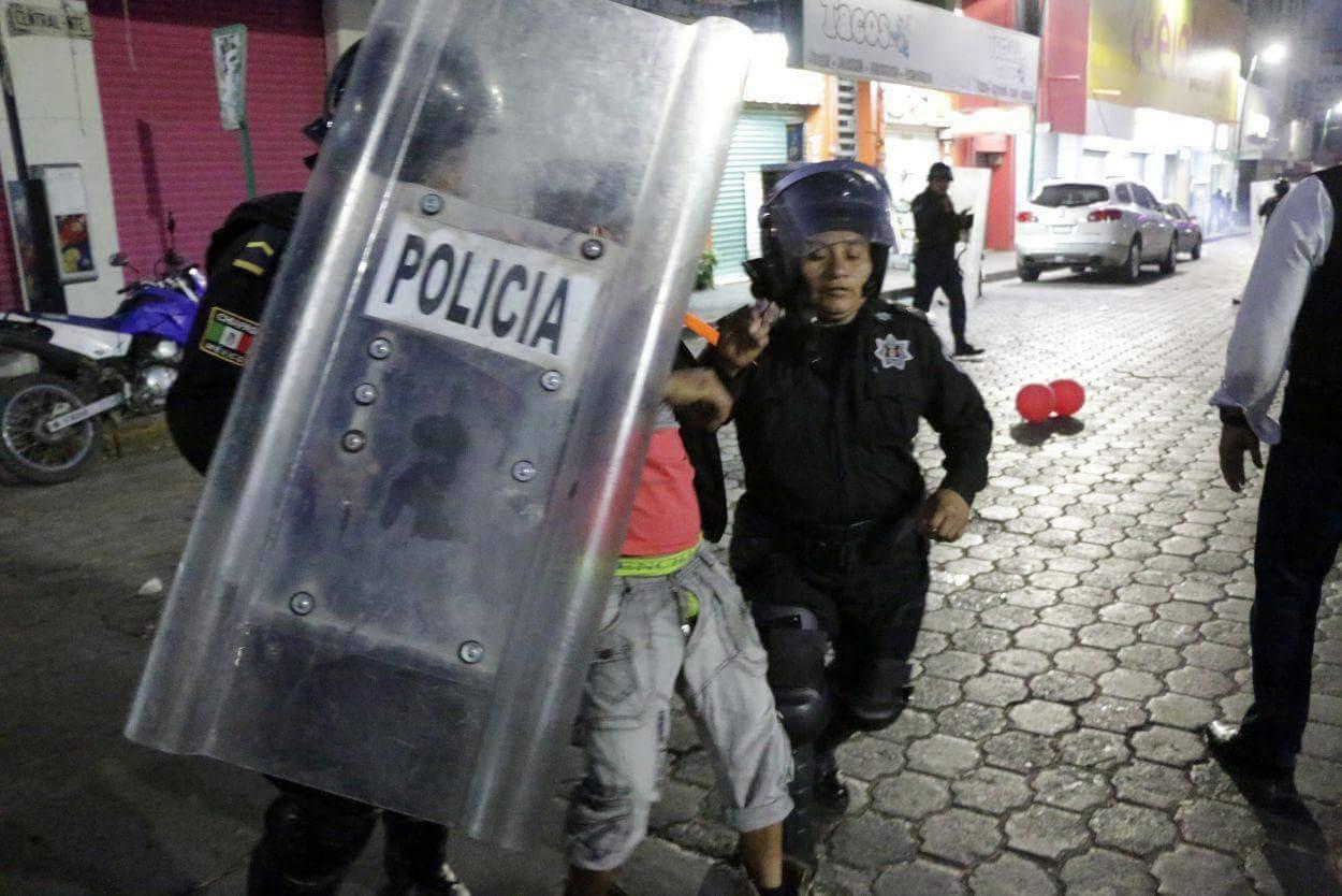 23 detenidos por acciones violentas: FGE