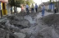 Supervisa Fernando Castellanos obras de introducción sanitaria en la capital chiapaneca
