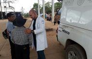 Mantiene Secretaría de Salud asistencia médica a familias de Chalchihuitán