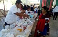 Se realiza feria de la salud en Chalchihuitán