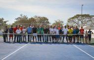 Histórica inauguración de canchas públicas de tenis