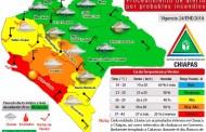 Protección Civil activa mapa de alerta por zonas vulnerables a incendios