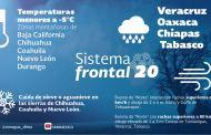 Implementan medidas preventivas por bajas temperaturas en Chiapas por Frente Frío No. 20